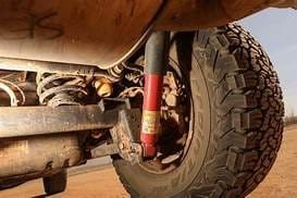 Testing shock rear shock absorbers