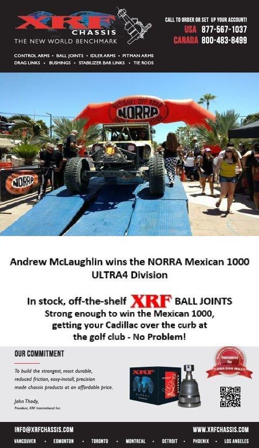 XRF Company Banner